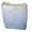 Ветошь белая (хб) 40 см x 60 см в брикете весом 10 кг. #1681978