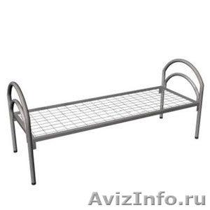 кровати двухъярусные и одноярусные, металлические кровати для пансионатов, армий - Изображение #5, Объявление #692985