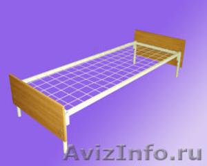 кровати двухъярусные и одноярусные, металлические кровати для пансионатов, армий - Изображение #7, Объявление #692985