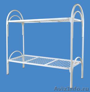 Кровати металлические для казарм, кровати двухъярусные для студентов - Изображение #1, Объявление #1478848
