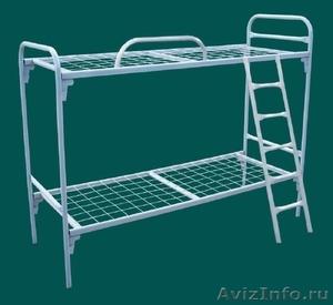Кровати металлические для казарм, кровати двухъярусные для студентов - Изображение #6, Объявление #1478848