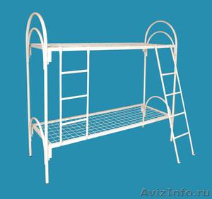 Кровати металлические для времянок, кровати металлические для рабочих. оптом. - Изображение #1, Объявление #1479535