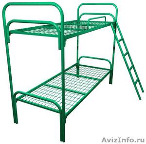 Кровати металлические для времянок, кровати металлические для рабочих. оптом. - Изображение #5, Объявление #1479535