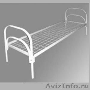 Кровати металлические для казарм, кровати двухъярусные для студентов - Изображение #3, Объявление #1478848