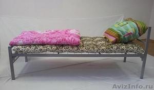 Кровати металлические для казарм, кровати двухъярусные для студентов - Изображение #9, Объявление #1478848