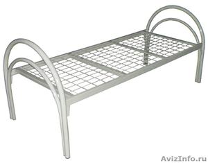 Кровати металлические для казарм, кровати двухъярусные для студентов - Изображение #2, Объявление #1478848