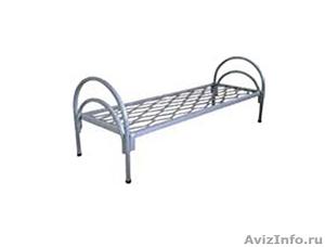 Кровати металлические для времянок, кровати металлические для рабочих. оптом. - Изображение #3, Объявление #1479535