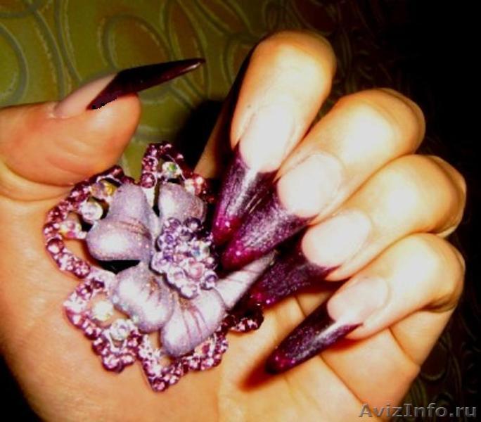 Стоимость наращивания ногтей в Перми