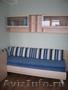 Кровать,  навесной шкаф и тумба для белья