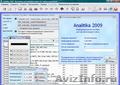 Analitika 2009 - Бесплатное ПО для учета и управления торговым предприятием