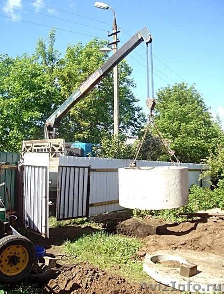яму для канализации из бетонных колец
