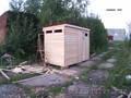 Туалет дачный разборный 1000х1000х2500 - Изображение #4, Объявление #587297