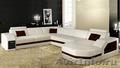 Модульный диван. Итальянская кожа. От производителя по цене текстиля.