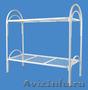 Кровати металлические для казарм, кровати двухъярусные для студентов, Объявление #1478848