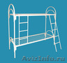 Кровати металлические для времянок,  кровати металлические для рабочих. оптом.